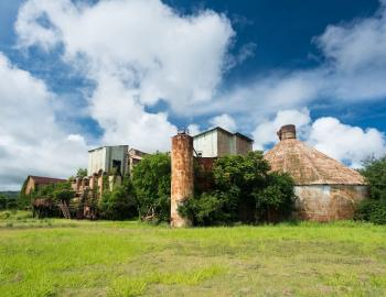 Old Sugar Mill at Koloa Town Kauai