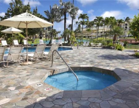 Kauai Beach Villas Hot Tub