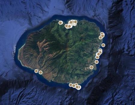 Kauai Vacation Rentals Map View