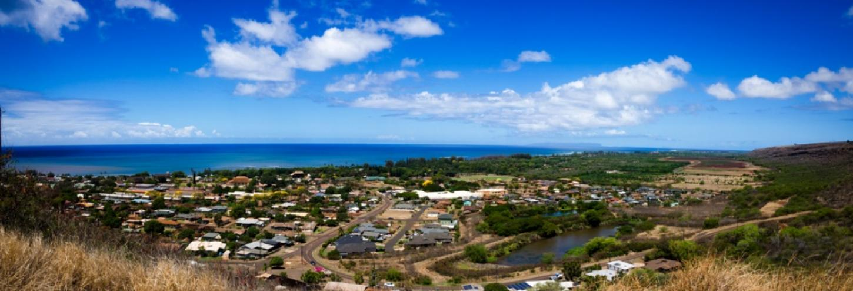 Aerial View of Hanapepe