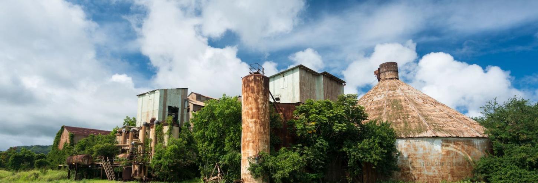 Old Sugar Mill at Koloa Town Kauai