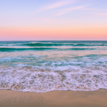 calm-beach-white-pastel-colors