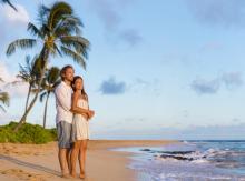 Couple on a Kauai Beach